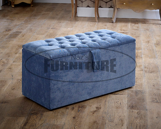 Chesterfield Style Ottoman Boxes