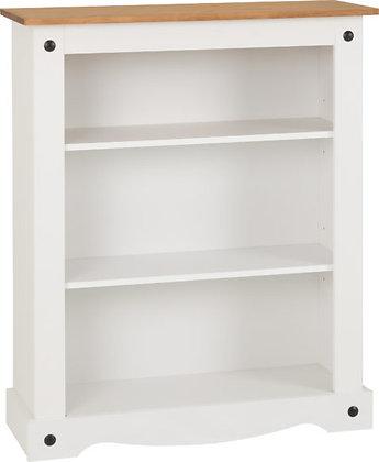 Corona Style Low Bookcase