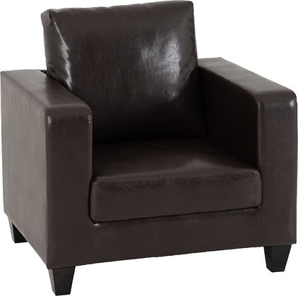 Lucy 1 Seater - Faux Leather