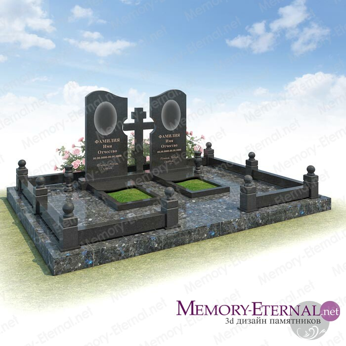 Дизайн мемориального комплекса из Лабрадорита