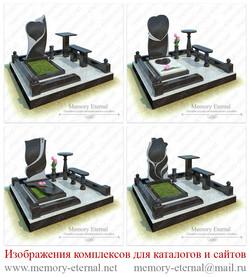 3d модели ритуальных памятников