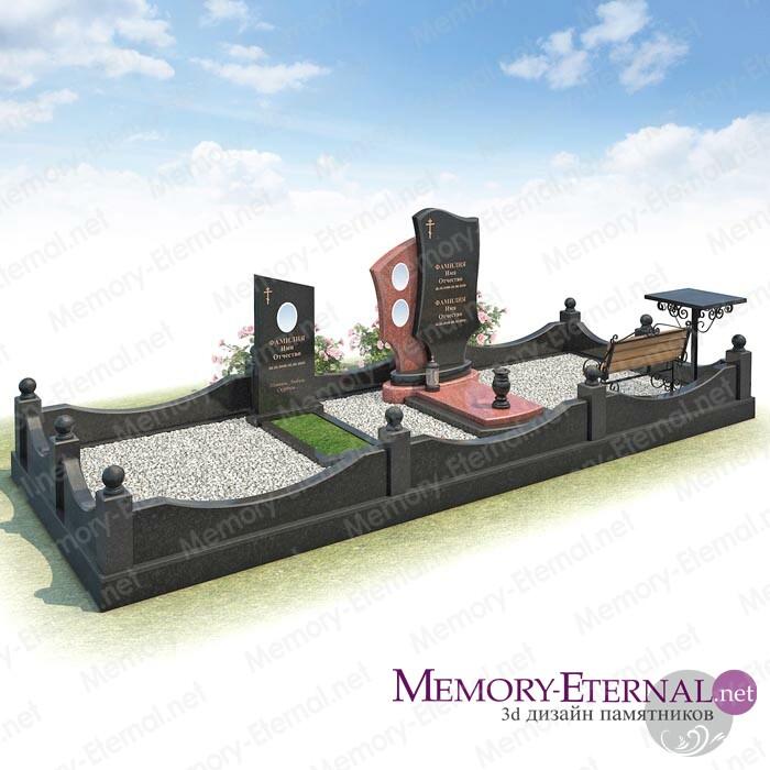 3d макет мемориального комплекса