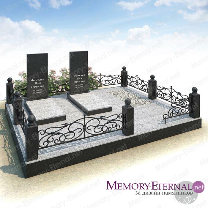 Мемориальный комплекс из Покостовского гранита