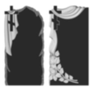 3d макет ритуальной стелы
