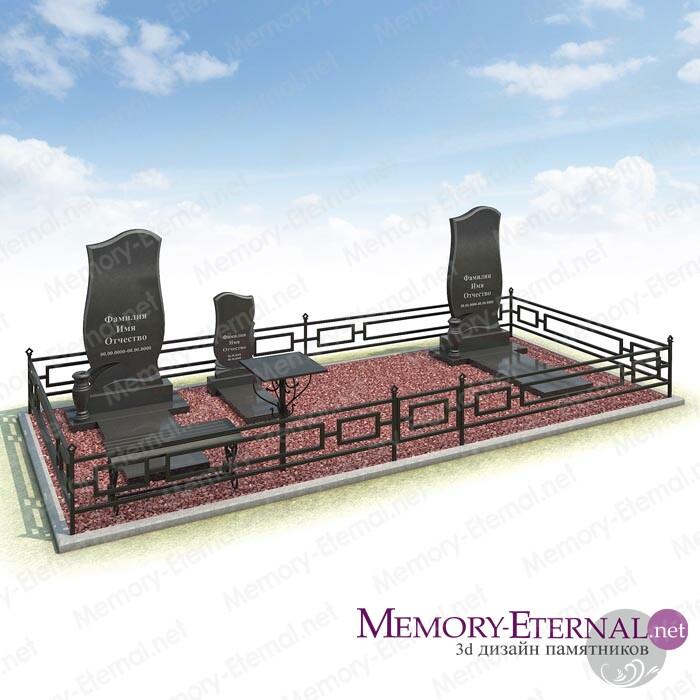 Дизайн мемориального комплекса