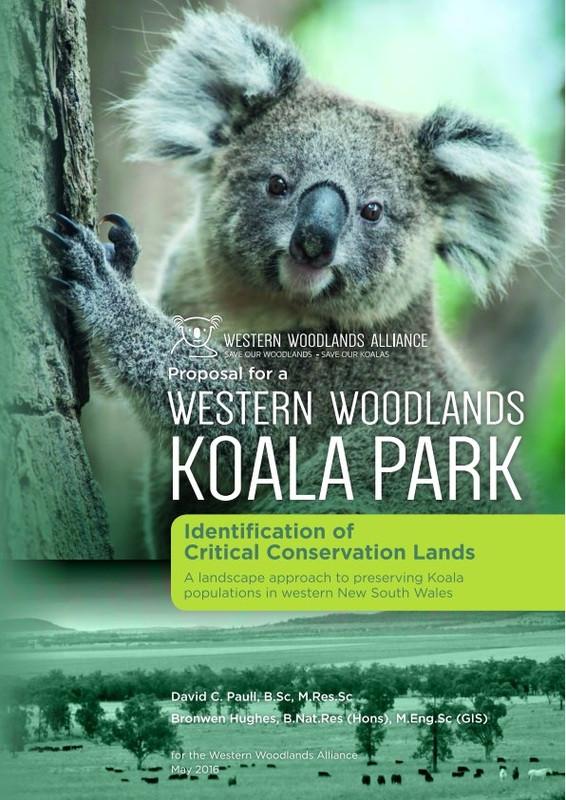 image: cover of western woodlands koala park report
