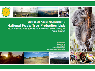 AKF Launches Trees For Koalas Database