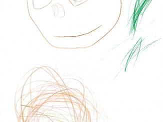 Pia's Drawing of a Koala in the Koala Valley