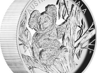 5oz High Relief Koala Coin