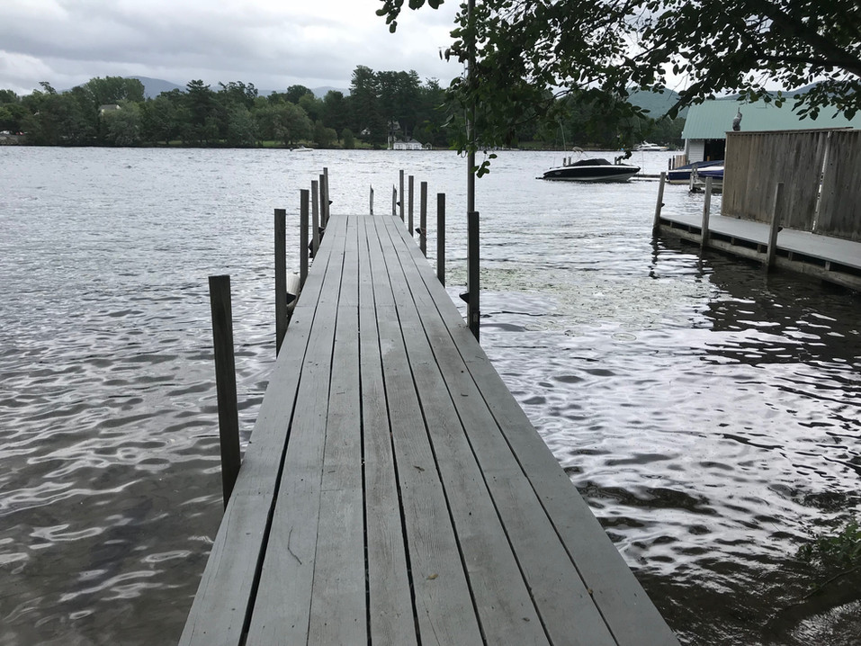 dock at the chateau.JPG