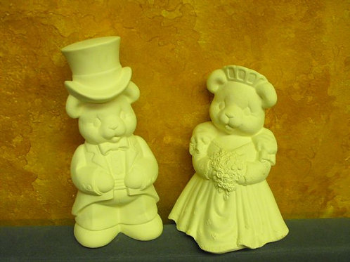 Large Bear Bride and Groom