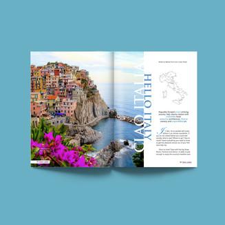 Ciao Italy, Hello Italy