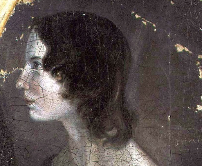 Emily Brontë portrait by brother Branwell, 1833
