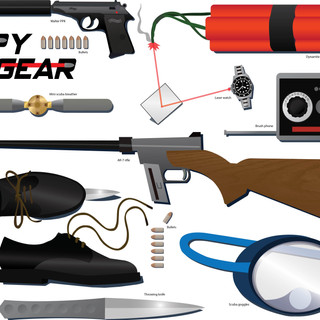 Spy Gear Taxanomy