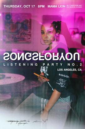 Tinashe | SONGSFORYOU Listening Party No. 2