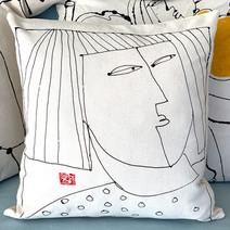 Bangs Pillow