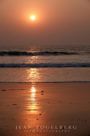 Sunset at Galgibaga Beach
