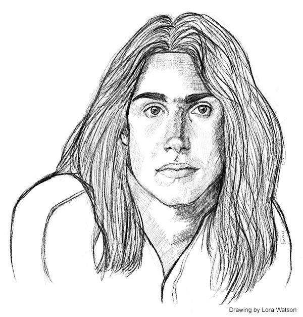 Dan Fogelberg drawing Lora Watson