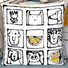 Squares Pillow