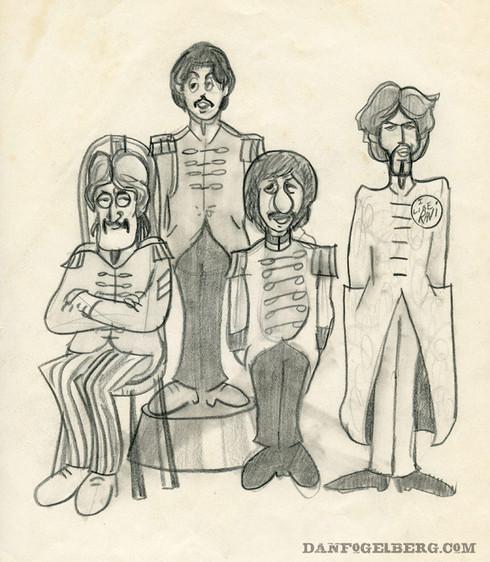 Beatles Sketch
