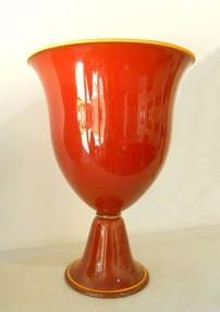 Tall Classic Red Urn