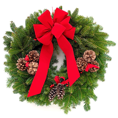 Simple Traditional Wreath