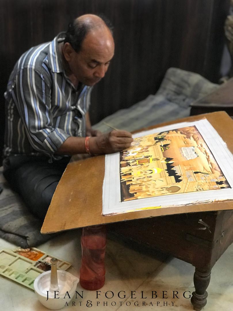 Artist In Udaipur