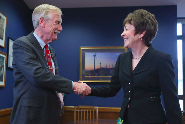 Senators Angus King and Susan Collins are bi-partisan sponsors of the ERA.