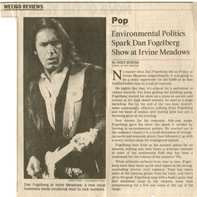 Environmental Politics in concert