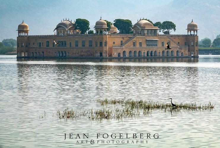 Jal Mahal on Mansagar Lake