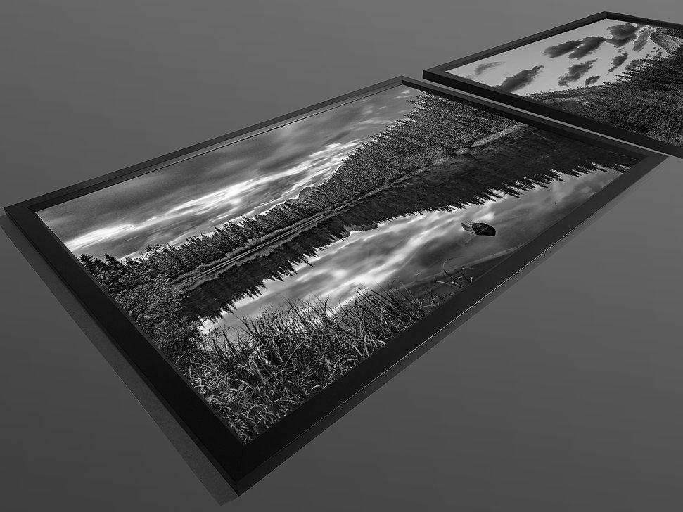 Framed Acrylic facemount print