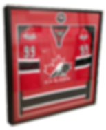 Framed Hockey Sweater