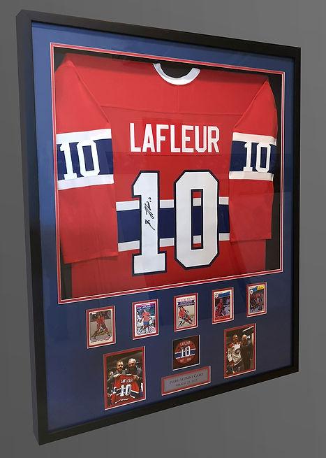 Signed Guy Lafleur jersey