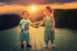 Long exposure sunset image
