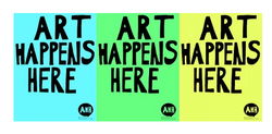 Art Happens Here Exhibition