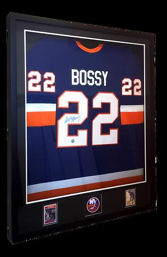 framed hockey jersey
