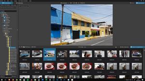screenshot of Photolab's 2.0 Photolibrary