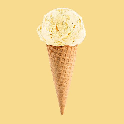 Lactose vrij ijs Vanille