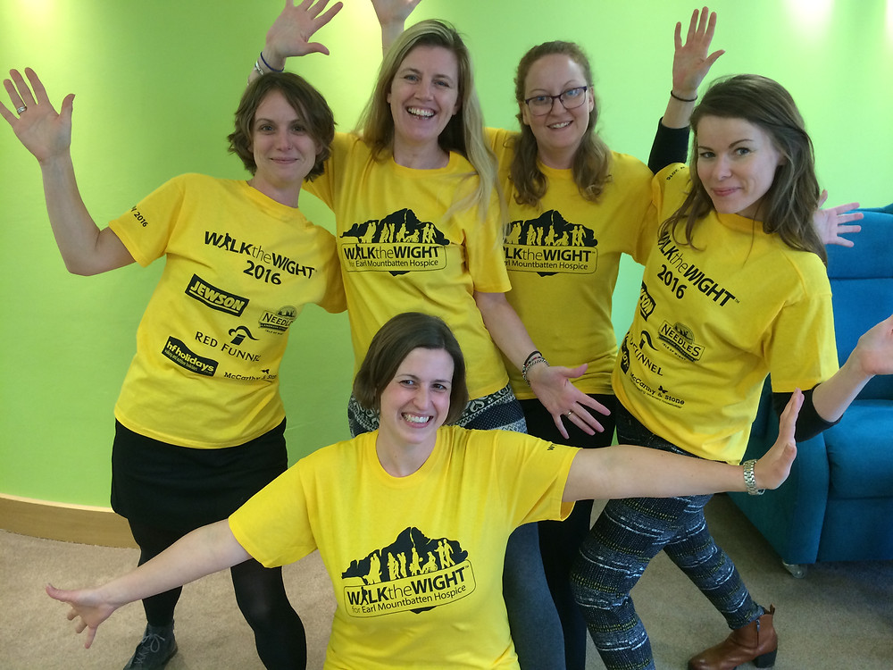The team celebrate registrations opening for WTW16