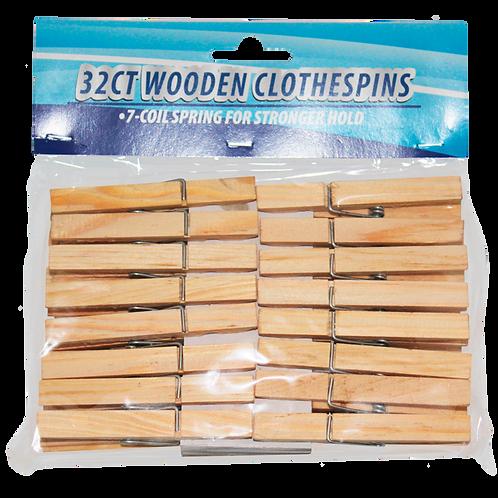 Pinza de madera para ropa