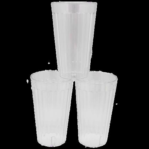 Juego de vasos cristalinos