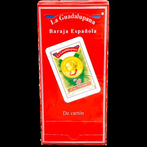Baraja española de cartón