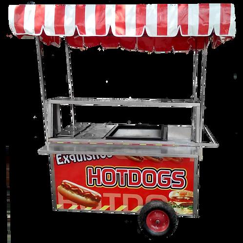 Carro para hotdogs