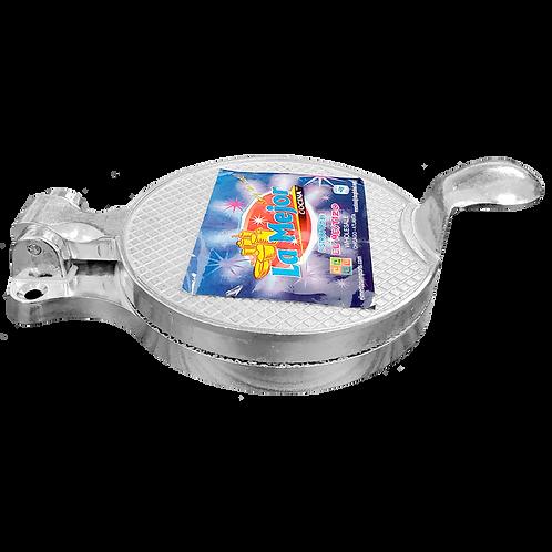 Prensa de aluminio para sopes