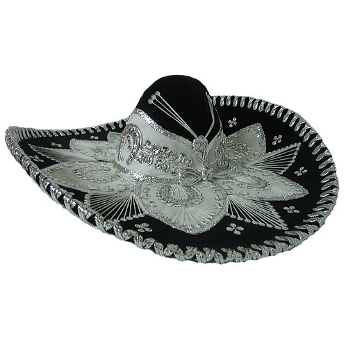 Sombrero mexicano bordado