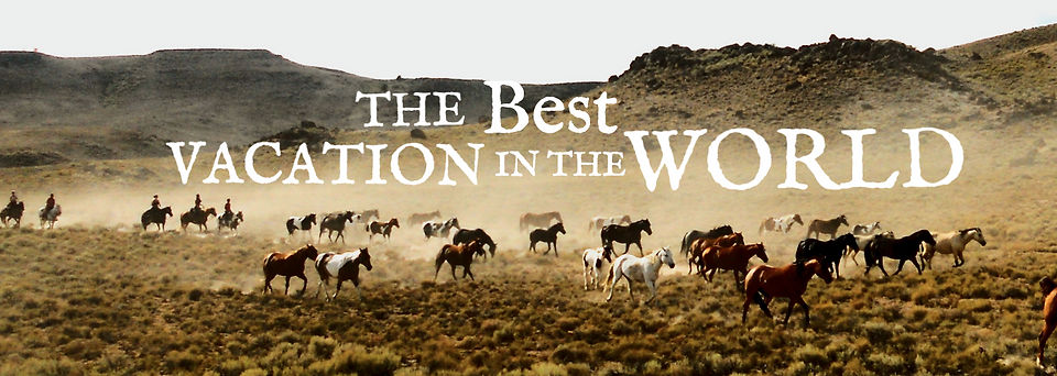 World Famous Horse Drive | Silver Spur Ranch Idaho | Horse Riding Holidays