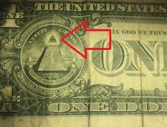 one dollar bill all seeing eye