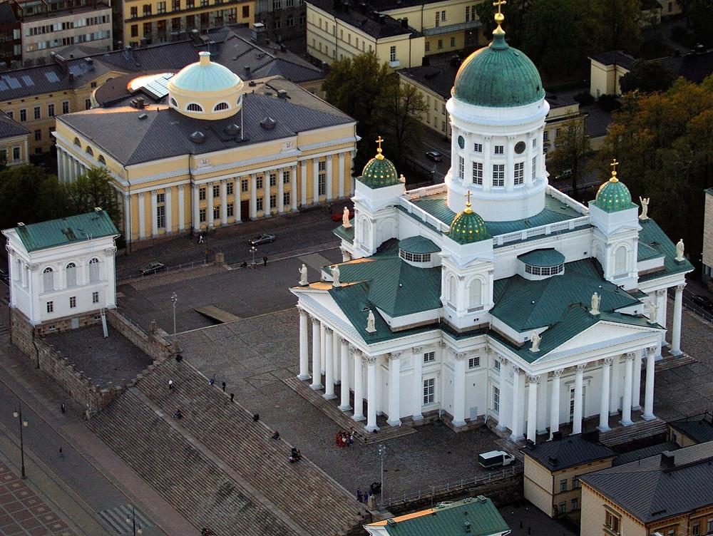 Helsingin Tuomiokirkko, ilmakuva