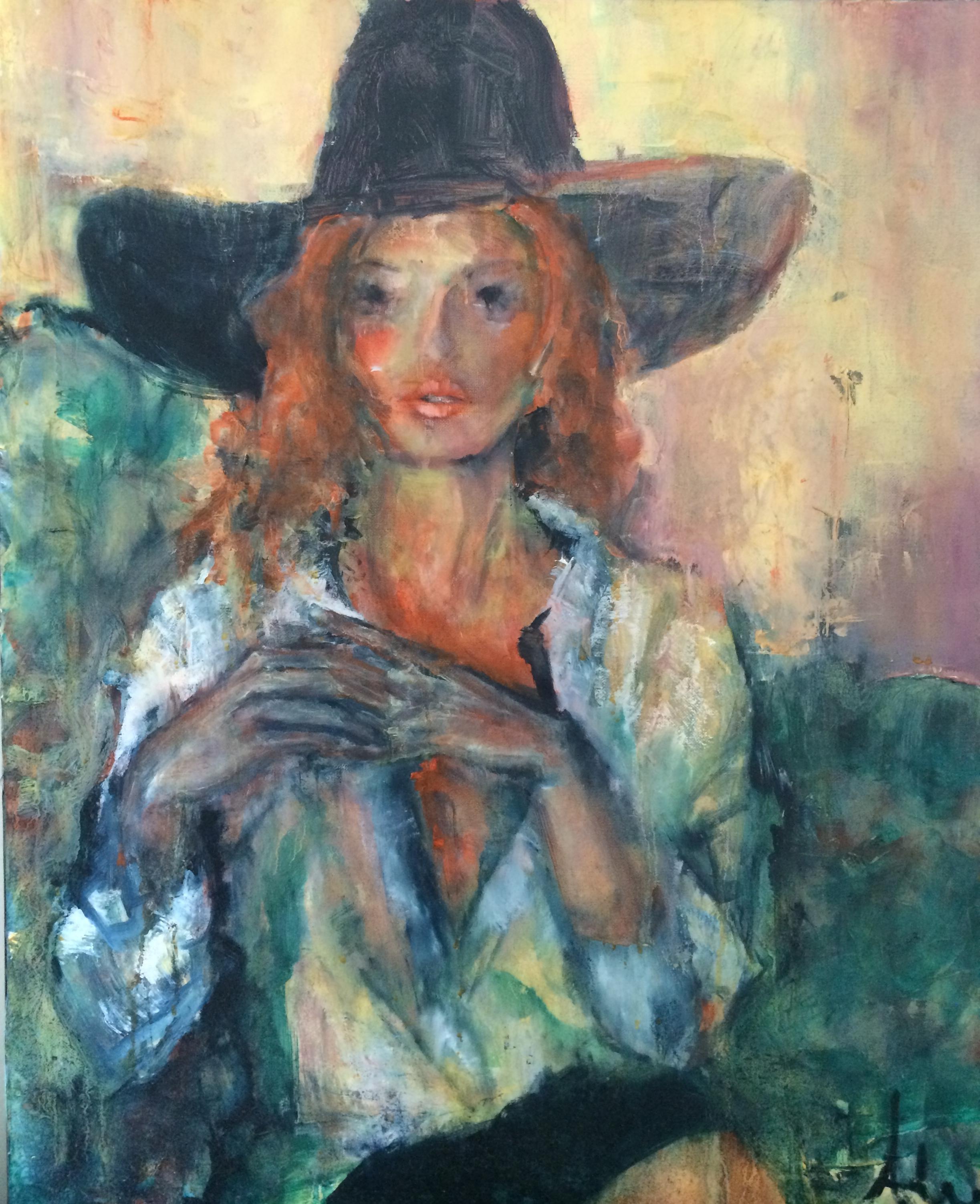 Femme au chapeau (2012)