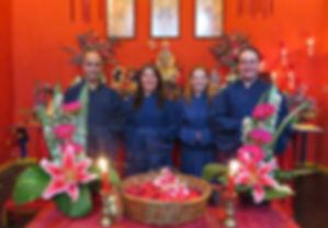 Sacerdotes da Sociedade Taoista do Brasil